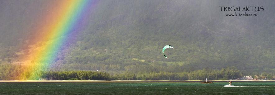 Обучение кайтсерфингу на о. Маврикий с 15 сентября по 25 октября 2012 года